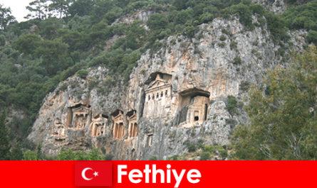 土耳其西南部的费蒂耶市