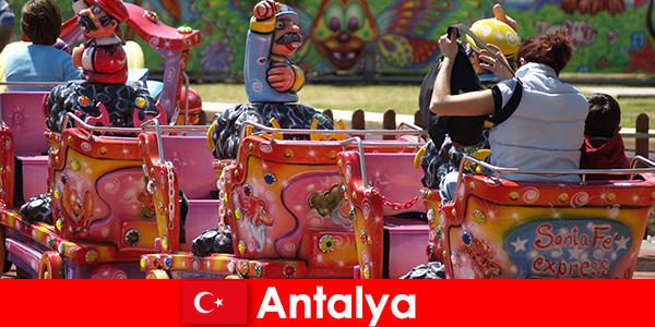 土耳其安塔利亚的一个不错的家庭度假