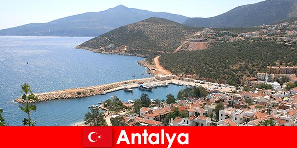 土耳其安塔利亚的海滩