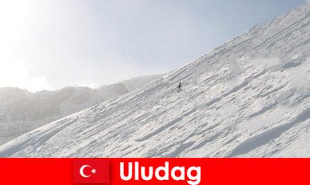 土耳其乌卢达格的寒假