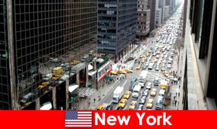 享受一个便宜的假期在纽约市