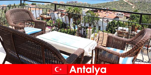 在土耳其的款待再次得到安塔利亚游客的确认