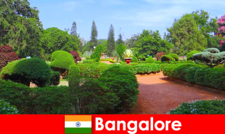 班加罗尔的度假者喜欢舒缓美丽的公园和花园
