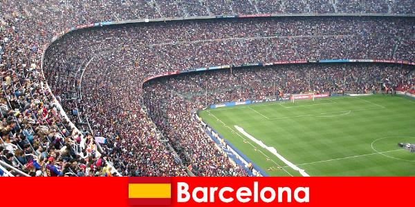 巴塞罗那与运动和冒险的游客的梦想之旅