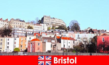 布里斯托尔的城市与青年文化和友好的气氛为未知