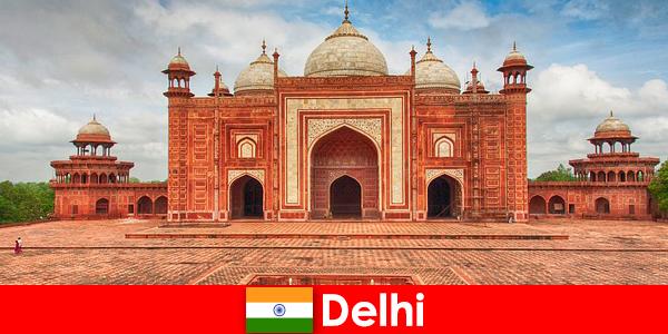德里的旅行者可以找到印度最好的景点