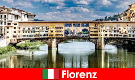 作为一个养老金领取者与家庭和孩子移民到佛罗伦萨