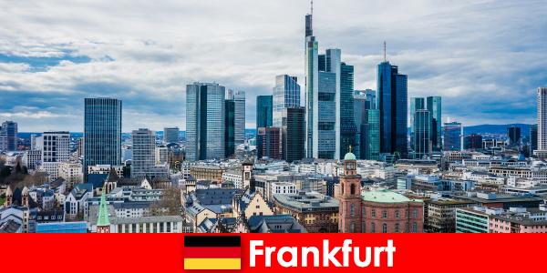 法兰克福的旅游景点,高层建筑的大都市