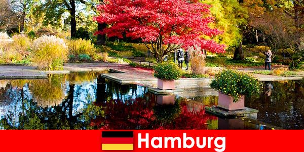 汉堡是一座港口城市,拥有大型公园,可享受轻松的假期