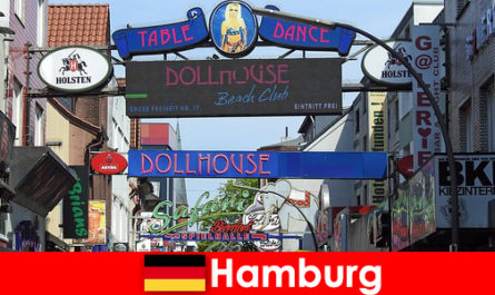 汉堡里珀班 - 夜生活妓院和护送服务性旅游