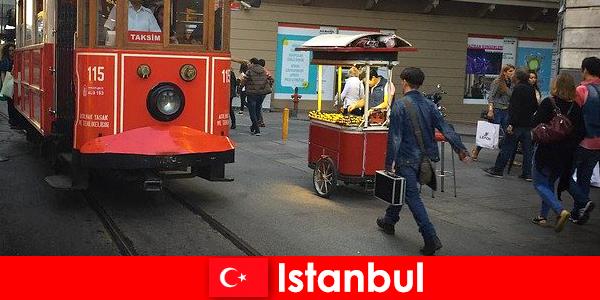 伊斯坦布尔是世界所有来自世界各地的人和文化的大都市