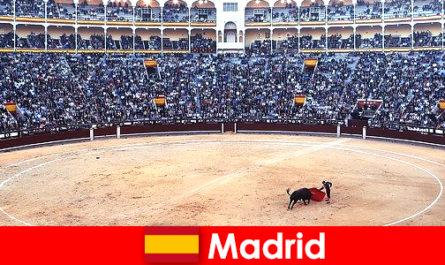 马德里的传统节日让每个陌生人都感到惊奇