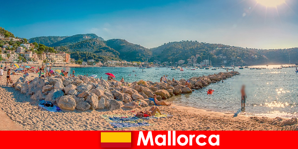 马略卡岛与世界著名的派对英里和美丽的海滩