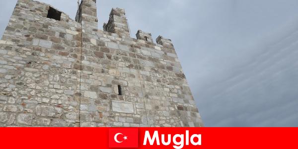 土耳其穆格拉被毁城市的冒险之旅