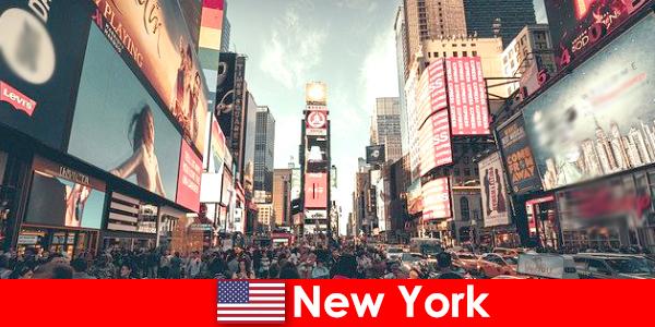 在纽约购物是数百万游客的必去之计