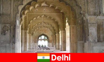陌生人喜欢印度德里的文化之旅