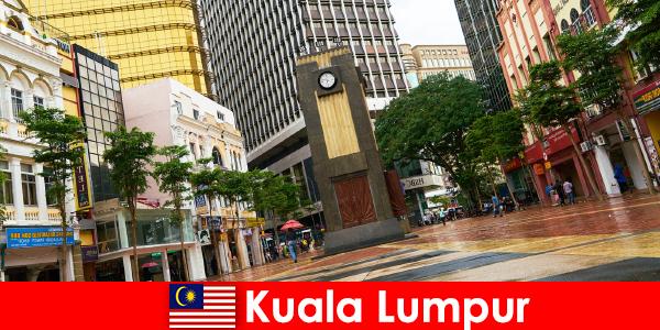 马来西亚最大大都市区的吉隆坡文化和经济中心