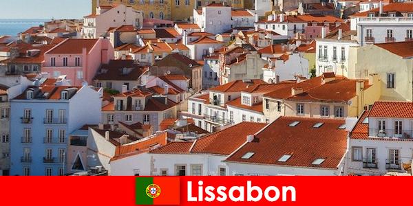 里斯本海滨城市顶级目的地与海滩阳光和美味的食物