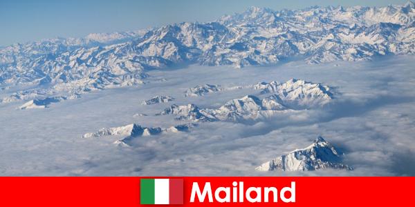 米兰是意大利最好的滑雪胜地之一