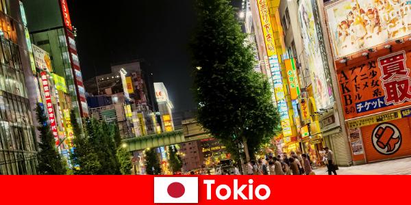 现代建筑和古老的寺庙让东京难忘外国人的旅行