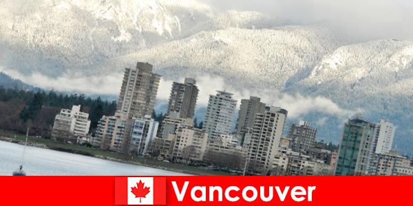 温哥华在海洋和山脉之间的精彩城市为体育游客提供了大量机会