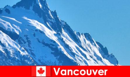 加拿大温哥华市是登山旅游的主要目标