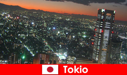 陌生人喜欢东京 - 世界上最大和最现代化的城市
