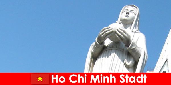 胡志明市越南经济中心外国人的目的地