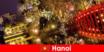 河内在越南是开放的旅游心脏