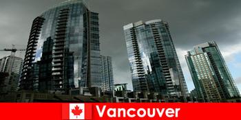 加拿大的温哥华总是陌生人令人印象深刻的建筑的目的地