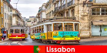 葡萄牙里斯本历史悠久的街道,带着对文化旅行者的怀旧之情