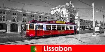 里斯本在葡萄牙游客知道你是大西洋上的白色城市