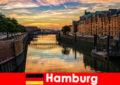 德国汉堡短暂休息的建筑美景和娱乐