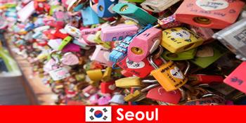 陌生人在韩国首尔时尚街头的发现之旅