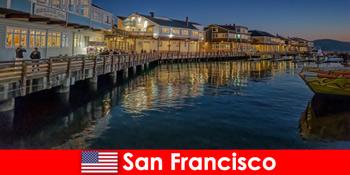 美国旧金山的海滨区是度假者的秘密最爱