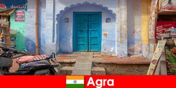 乡村生活海外之旅阿格拉印度