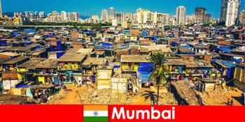 在印度孟买,游客可以体验到这座精彩城市的对比