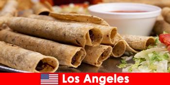 外国游客可以期待在美国洛杉矶最好的餐厅举办多功能的美食活动