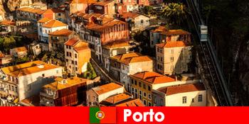 周末漫步葡萄牙波尔图老城区