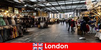 伦敦英国购物游客的热门地址