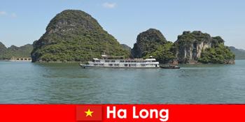 旅游团的多日游在贺龙越南很受欢迎
